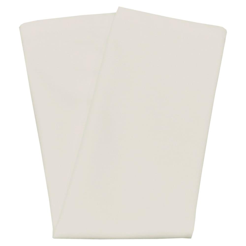 "Snap Drape NAPCL20MCRM 20"" Square Hemmed Napkin - Polyester, Cream"
