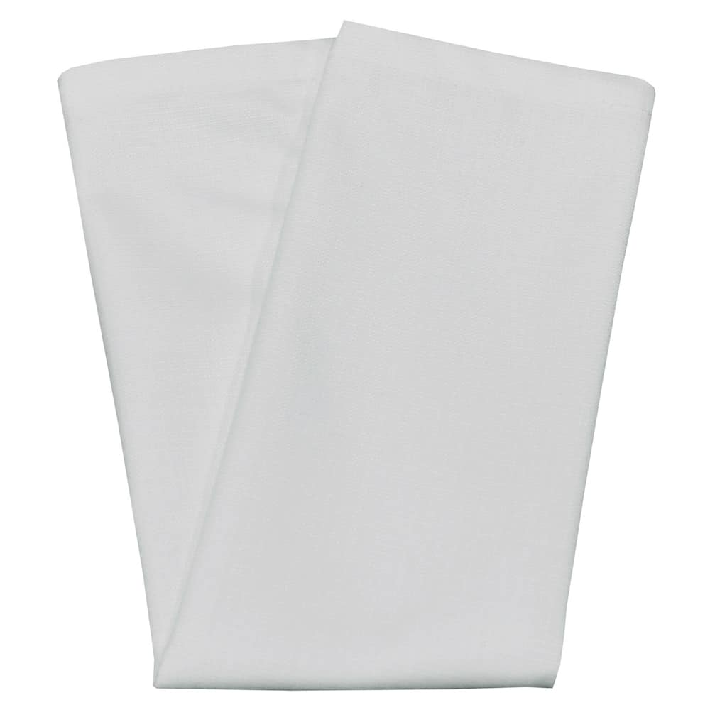 "Snap Drape NAPCL20MSTN 20"" Square Hemmed Napkin - Polyester, Stone"
