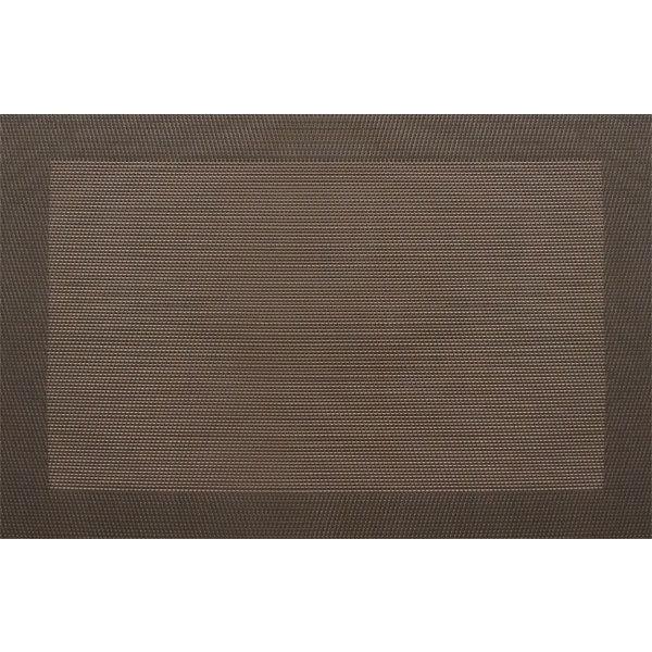 "Snap Drape PMRENCHC Reno Placemat - 13x18"" Chocolate"