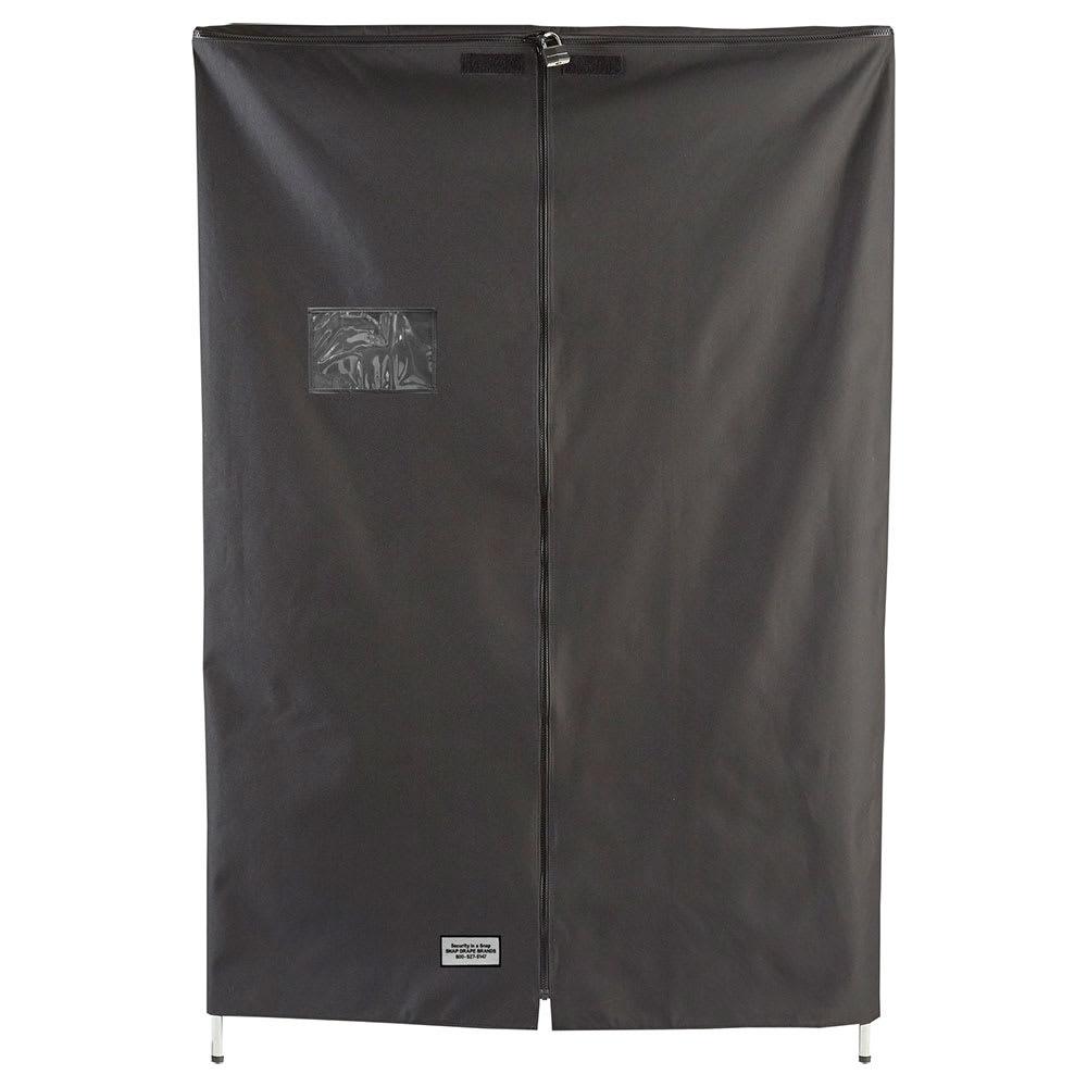 """Snap Drape SSC481872 Shelf Cover for 72"""" Shelves - Polyester, Black"""