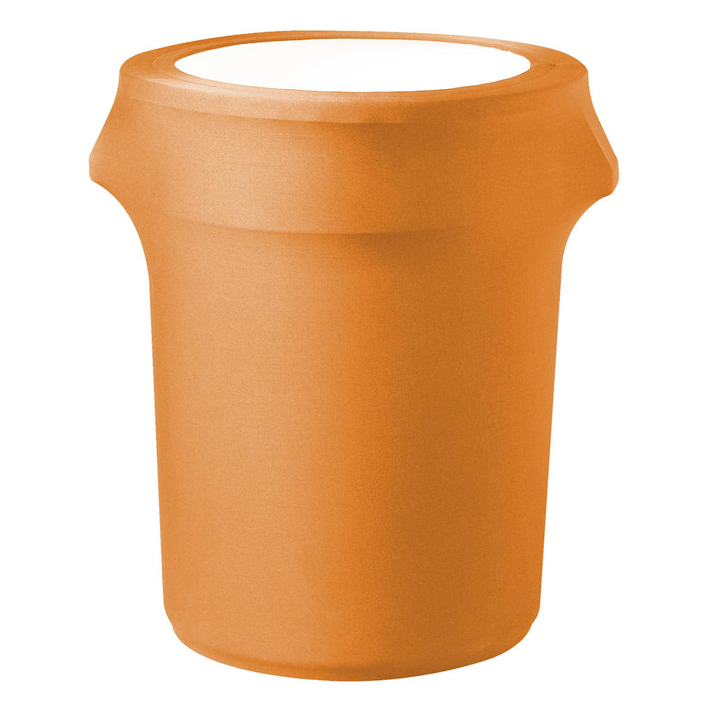 Snap Drape TCCCC55 MAN Mango, Round Fitted Trash Can Cover, 55 gal