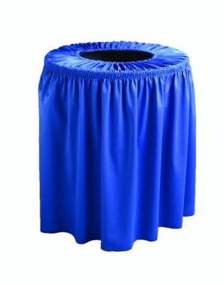 Snap Drape TCCWYN55 BUR Wyndham 55-Gallon Trash Can Cover, Polyester, Burgundy