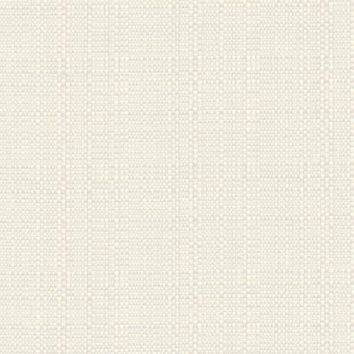 "Snap Drape TCL44445CRM 44"" Square Classic Linen Hemmed Tablecloth - Polyester, Cream"