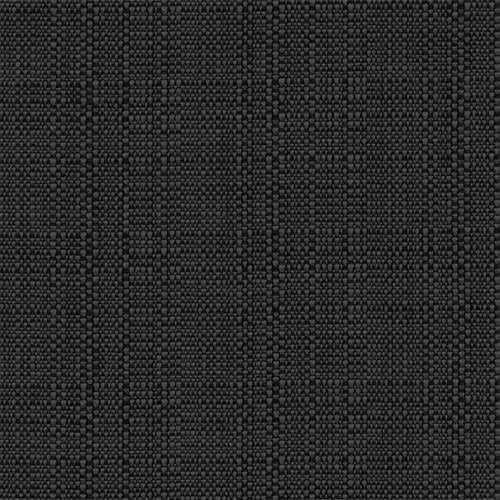 "Snap Drape TCL5252HBLK 52"" Square Classic Linen Hemmed Tablecloth - Polyester, Black"