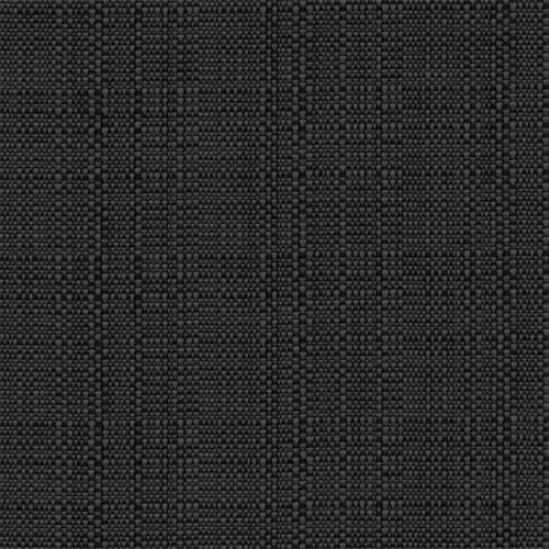 """Snap Drape TCL71ROBLK 71"""" Round Classic Linen Overlocked Tablecloth - Polyester, Black"""