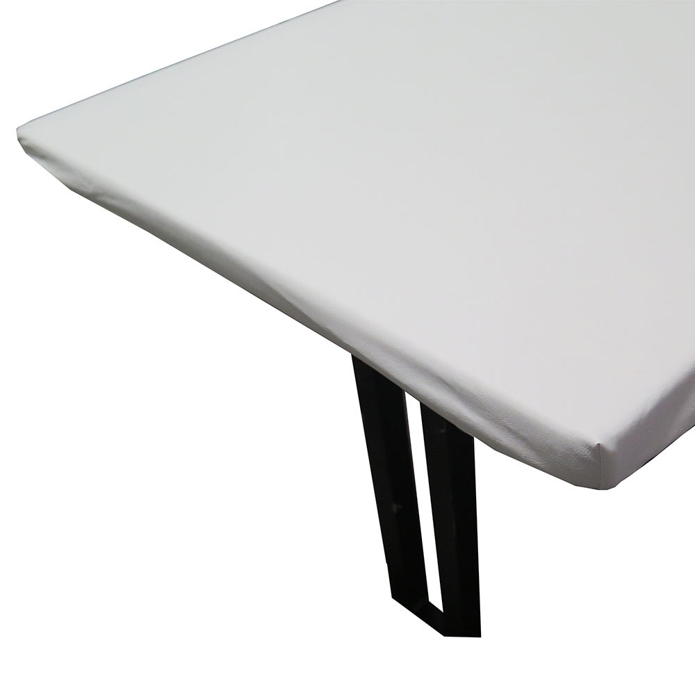 "Snap Drape TP6666 Table Padding w/ Vinyl Top, Fits 66"" x 66"" Table, Felt Backing"