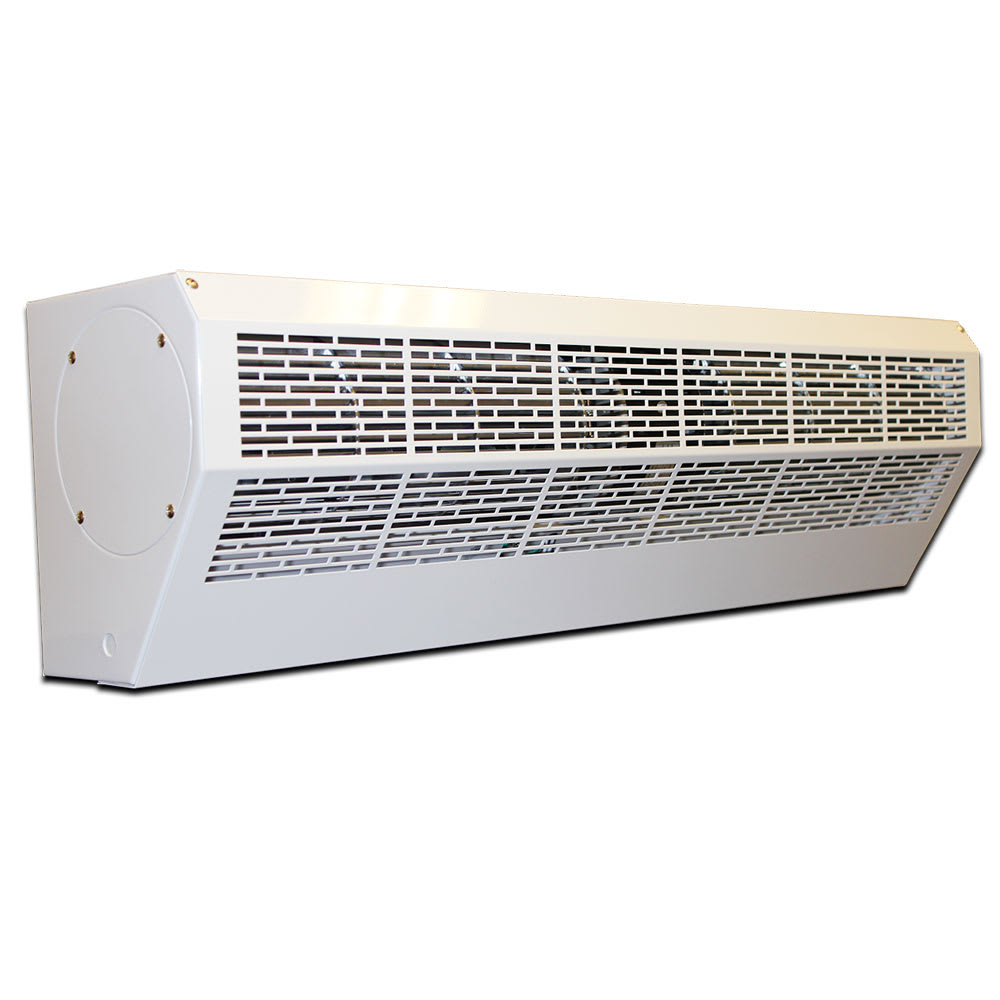 "Curtron AP-2-36-1-PC 36"" Air-Pro White Powder Coated Air Curtain"