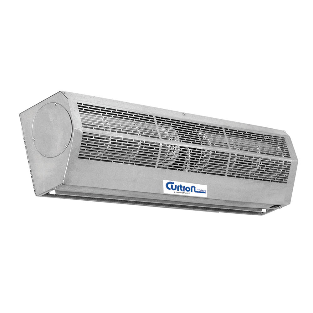 "Curtron AP-4-72-2-SS 72"" Unheated Air Curtain - (2) Speed, Stainless, 120v"
