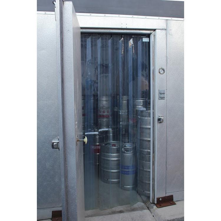 "Curtron M106-PR-4086 40 x 86"" H Door for Walk-In Cooler & Freezer, Polar Strips 6 x .06"