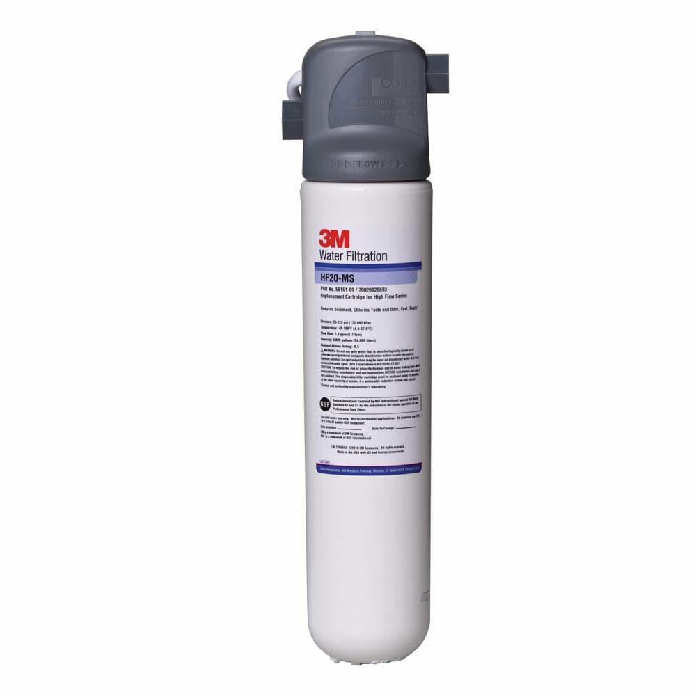 3M Cuno 5616001 BREW120 MS Filter System, Reduce Cyst, Sediment, Chlorine & Odor, 0.5 Micron