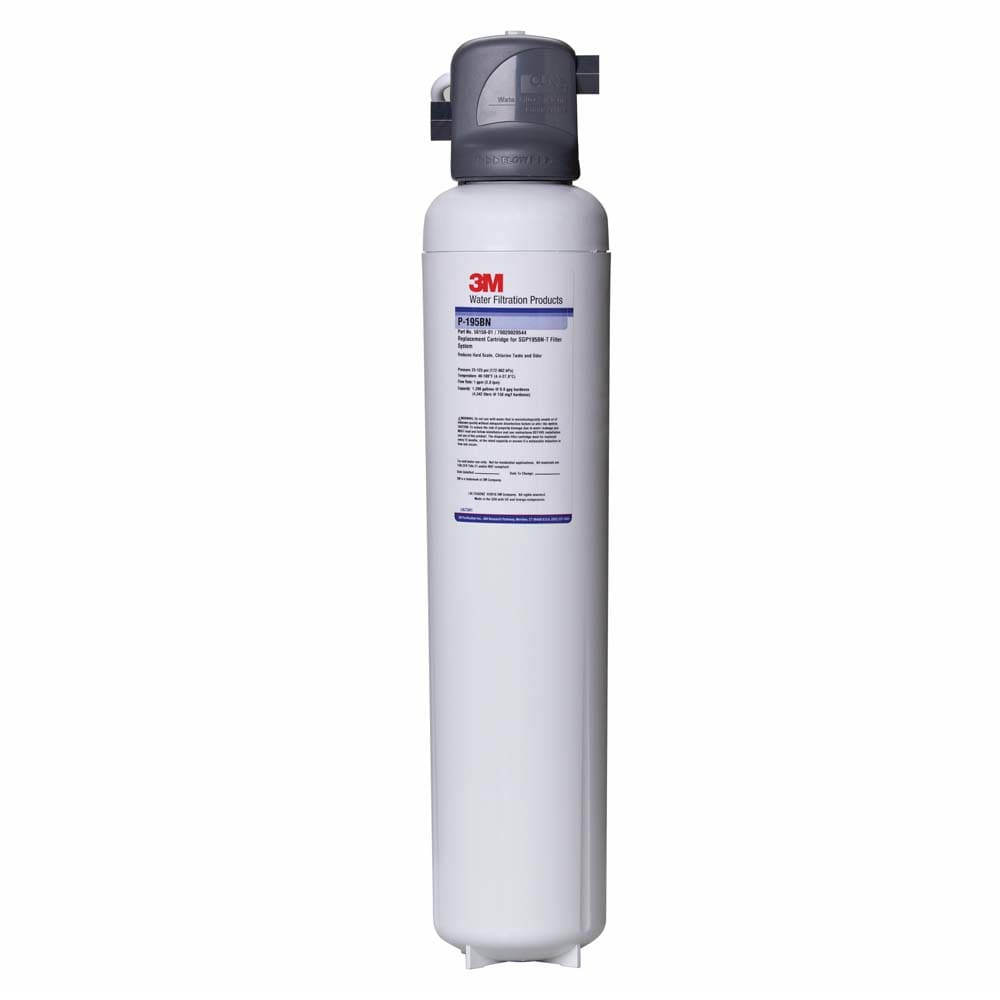 3M Cuno 5617602 SGP195BN-T Filter System, Reduces Hardness, Chlorine Taste & Odor