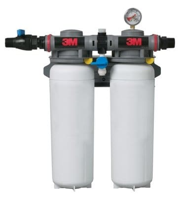 3M Cuno 5624503 ICE260 S Filter System w/ Shut Off Valve, 0.2 Microns