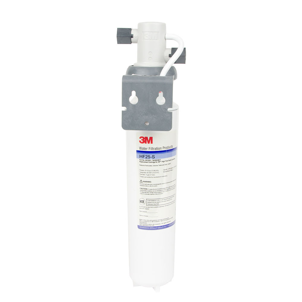3M Cuno BREW125-S Single Combination Water Filter Cartridge Assembly, Valve
