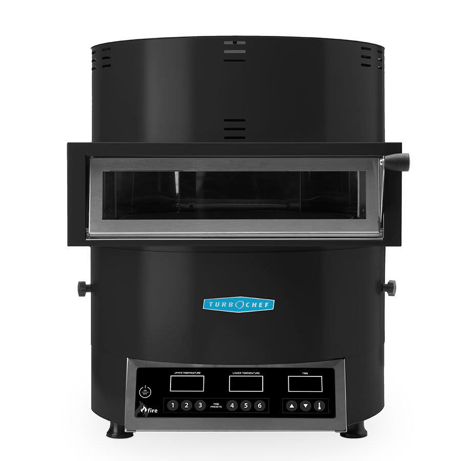 TurboChef FIRE Countertop Pizza Oven - Single Deck, 208 240v/1ph, Black