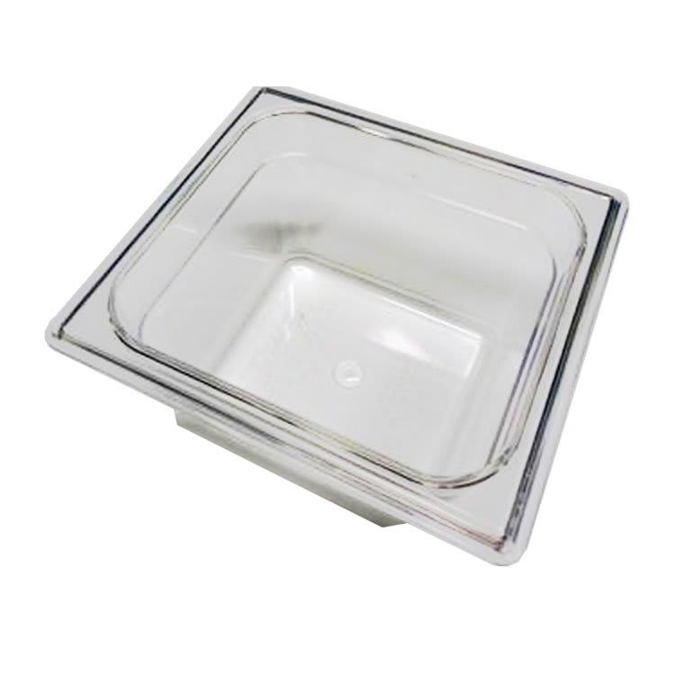 True 810292 Food Storage Pan, 1/6 Size, 6 7/8 x 6 5/16 x 3 4/5 Inch