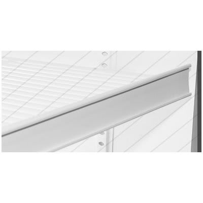 "True 812143 Pricing Strip, 1 11/16""H for TAC48 Wire Shelves"