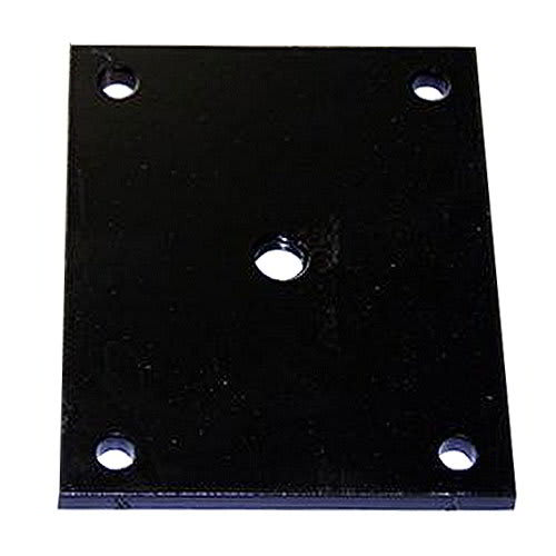 True 879194 Leg Mounting Plates, Set of 6, Required for Optional Legs on TRCB Over 79in