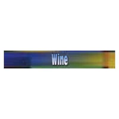 True 883959 Sign, Wine, Blue & Green, for GDM23RF