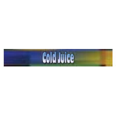 True 883965 Sign, Cold Juice, Blue & Green, for GDM26