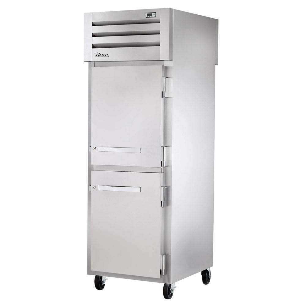 "True STA1FPT-2HS-2HS 27.5"" Single Section Pass-Thru Freezer, (2) Solid Door, 115v"