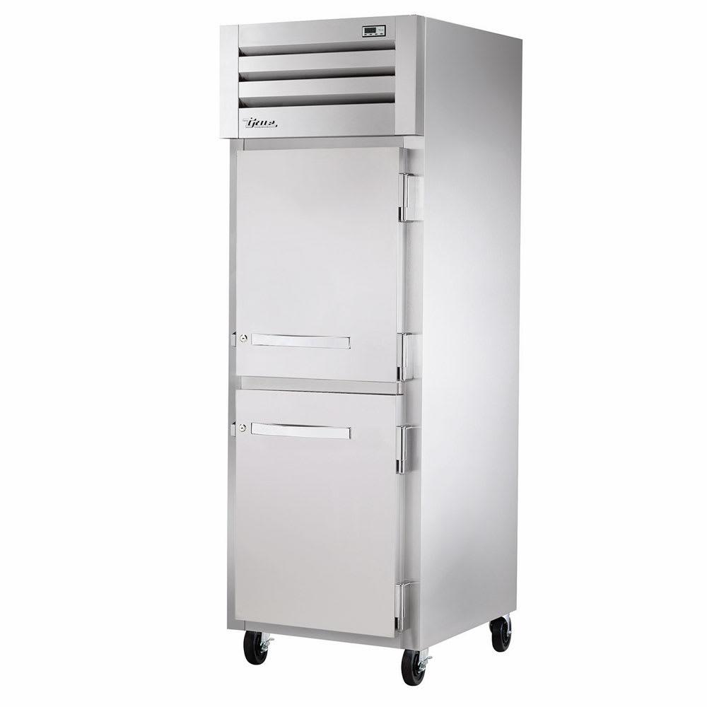 """True STA1R-2HS-HC 27.5"""" Single Section Reach-In Refrigerator, (2) Solid Door, 115v"""