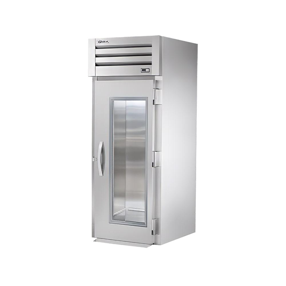 """True STA1RRI-1G 35"""" Single Section Roll-In Refrigerator, (1) Glass Door, 115v"""