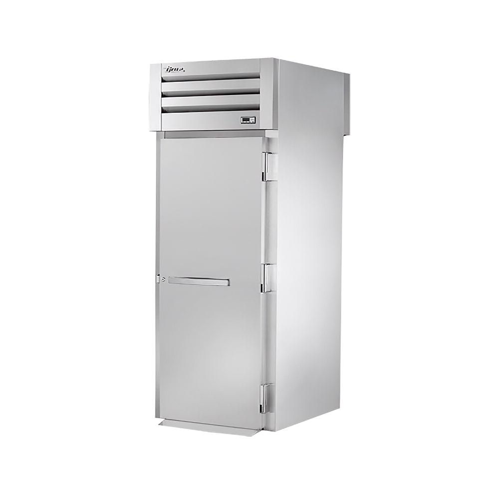 """True STA1RRT-1S-1S 35"""" Single Section Roll-Thru Refrigerator, (1) Solid Door, 115v"""