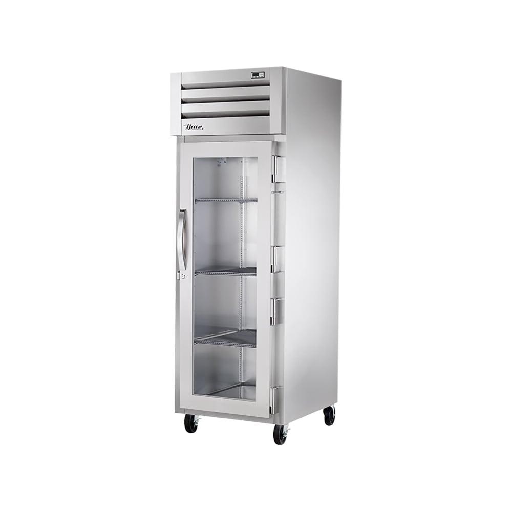 "True STG1F-1G-HC 27.5"" Single Section Reach-In Freezer, (1) Glass Door, 115v"