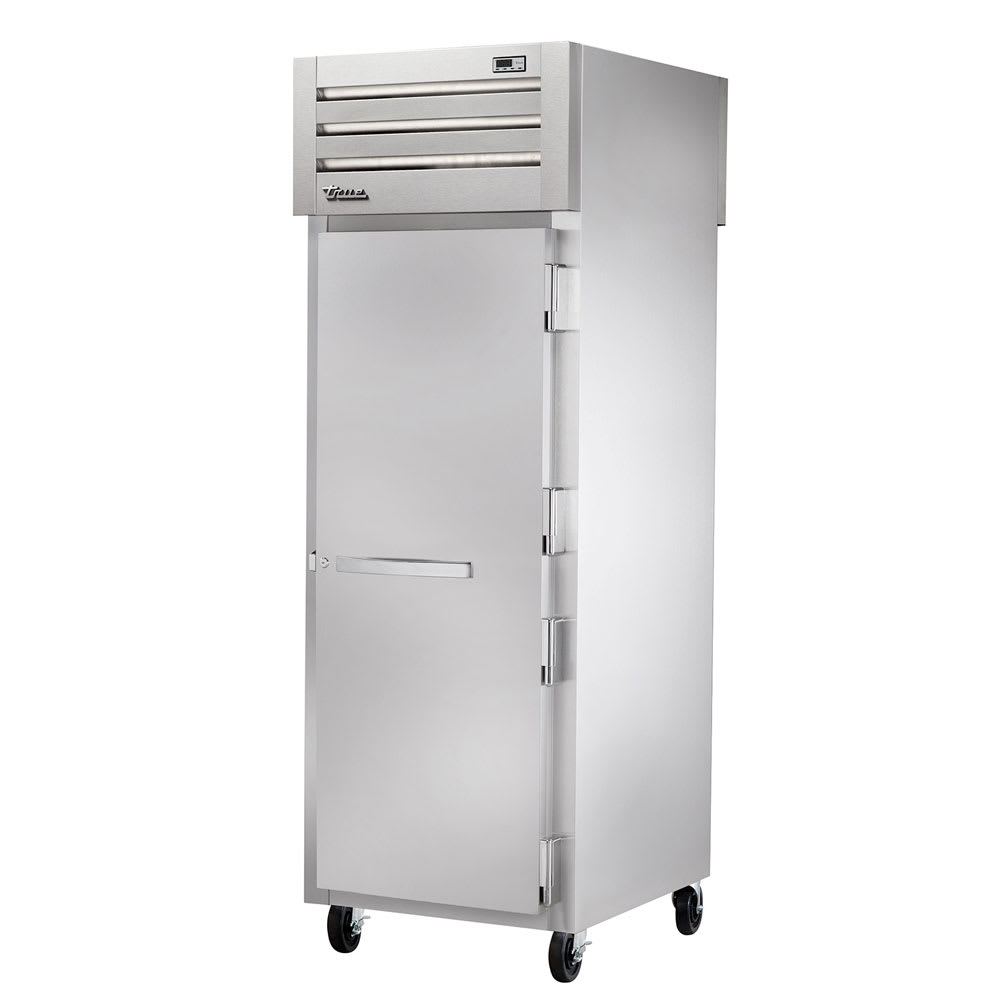 "True STG1FPT-1S-1S 27.5"" Single Section Pass-Thru Freezer, (1) Solid Door, 115v"