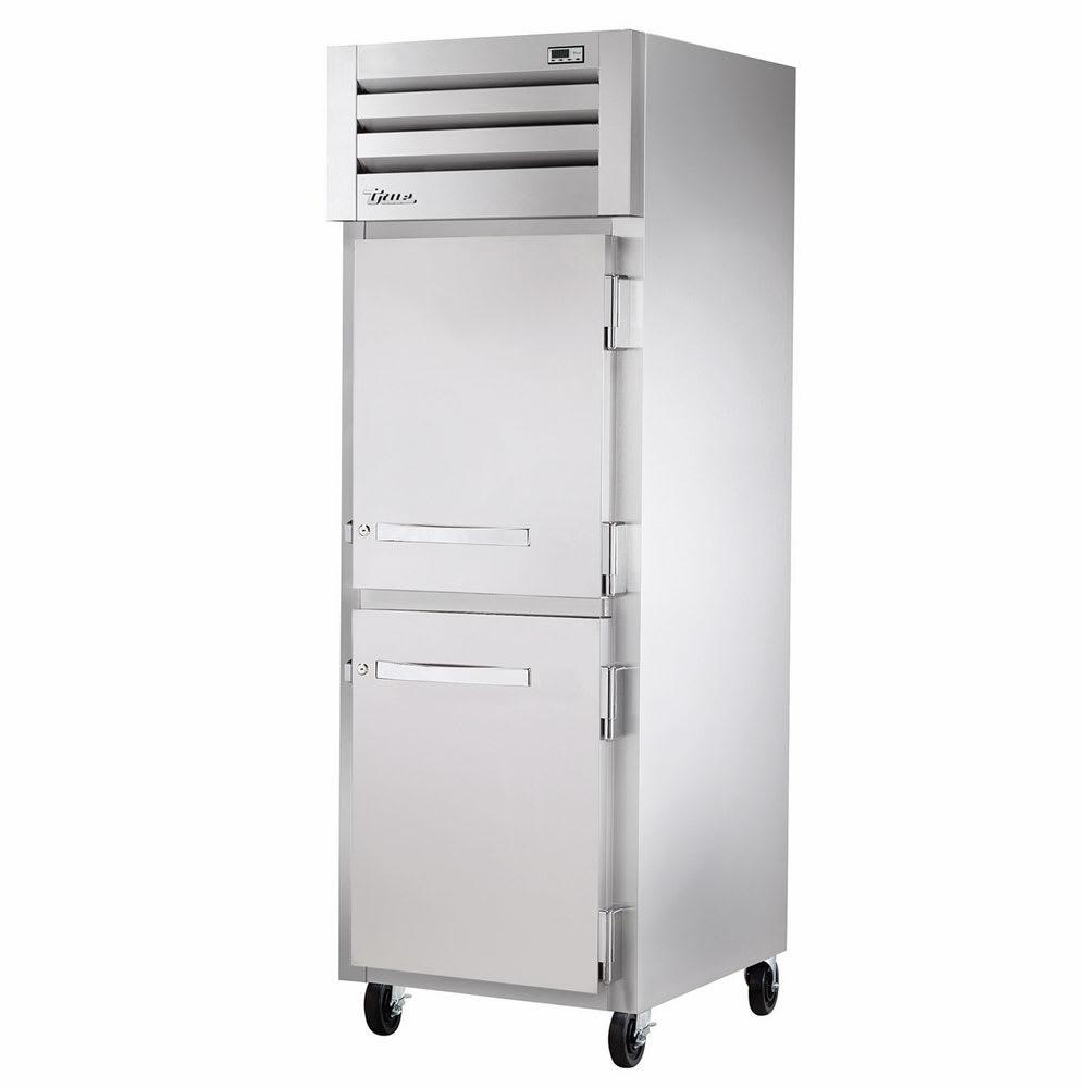 """True STG1R-2HS-HC 27.5"""" Single Section Reach-In Refrigerator, (2) Solid Door, 115v"""