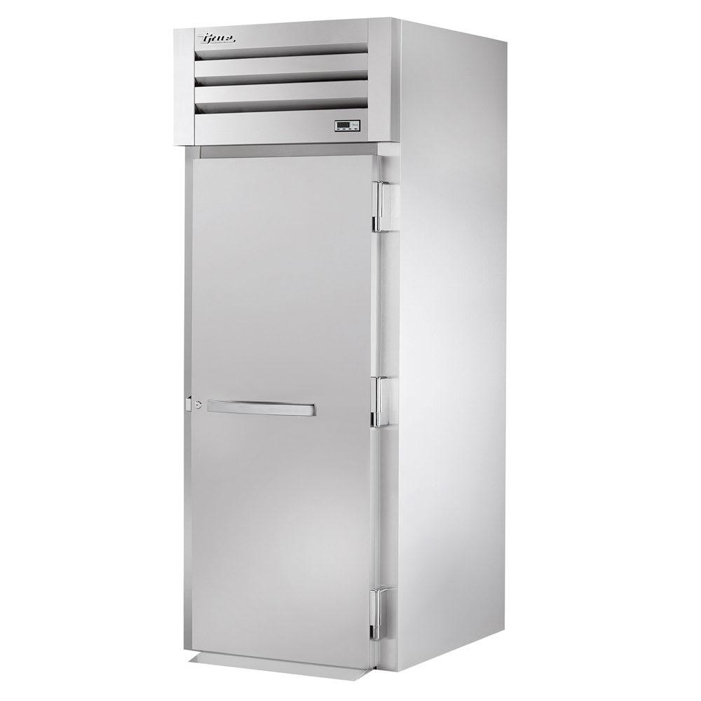"""True STG1RRT89-1S-1S 35"""" Single Section Roll-Thru Refrigerator, (1) Solid Door, 115v"""