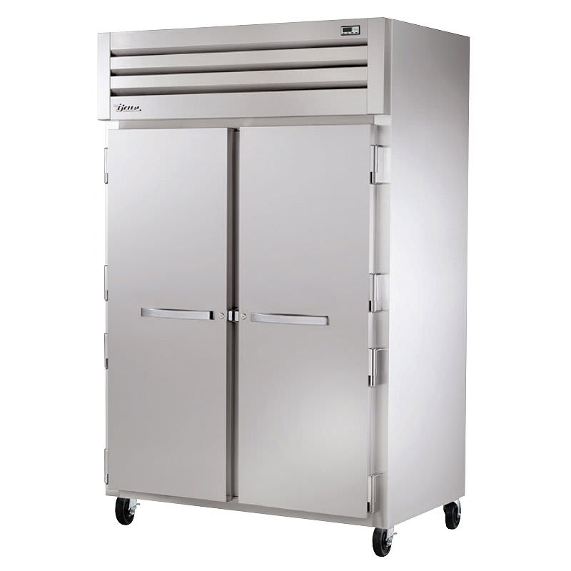"True STG2F-2S 52.63"" Two Section Reach-In Freezer, (2) Solid Doors, 115v"