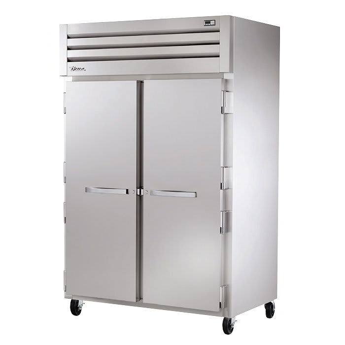 "True STG2R-2S-HC 53"" Spec Series® Two Section Reach-In Refrigerator, (2) Solid Doors, 115v"
