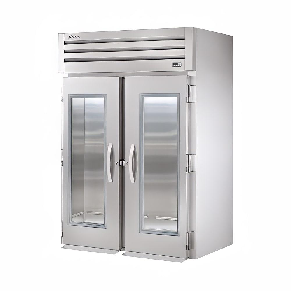 "True STG2RRI-2G 68"" Two Section Roll-In Refrigerator, (2) Glass Door, 115v"