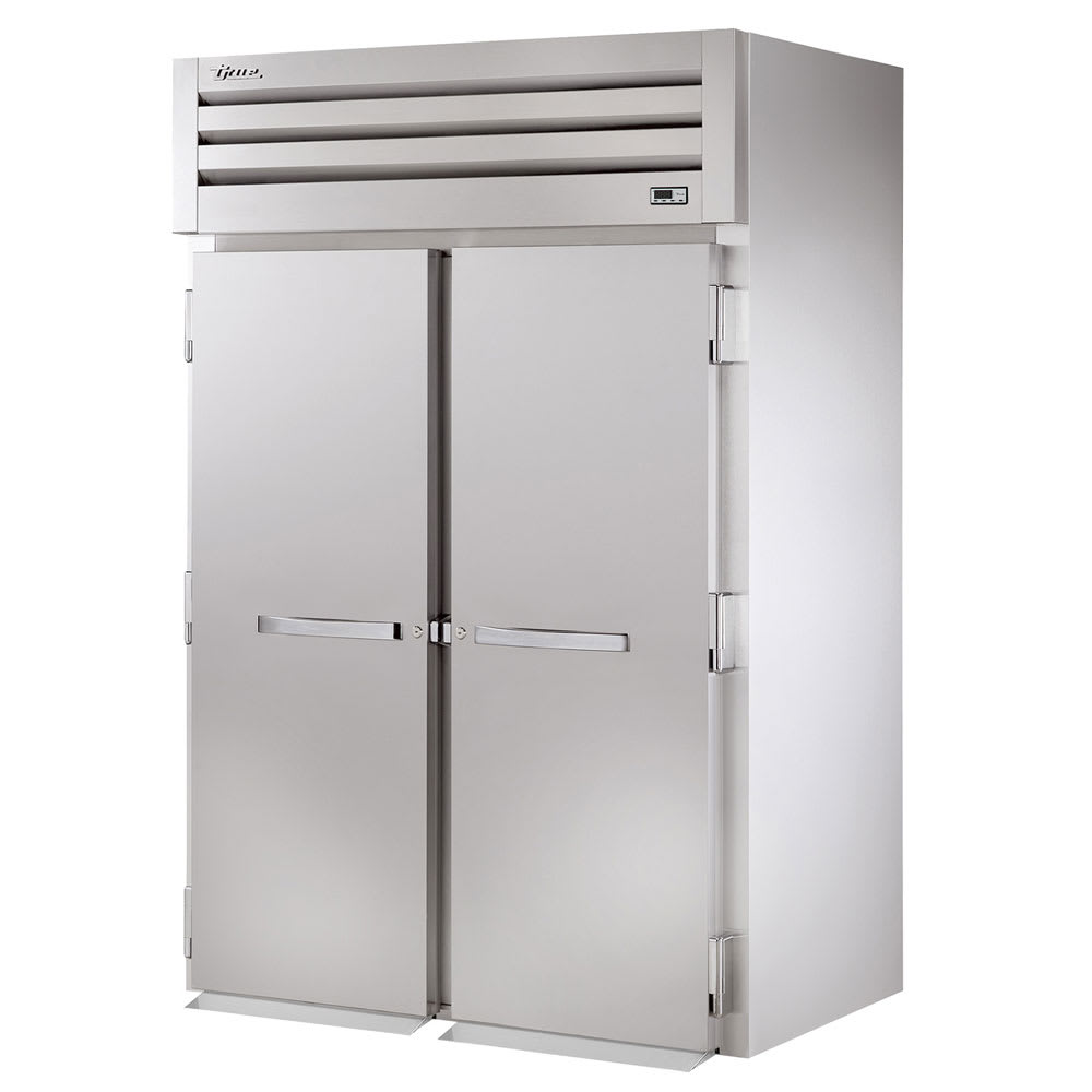 "True STG2RRI89-2S 68"" Two Section Roll-In Refrigerator, (2) Solid Door, 115v"