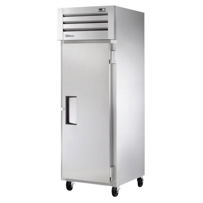 "True STM1R-1S-HC 28"" Single Section Reach-In Refrigerator, (1) Solid Door, 115v"