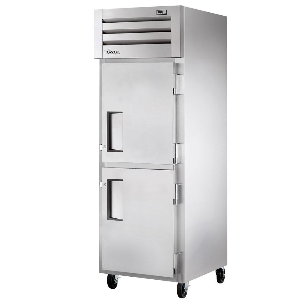 "True STM1R-2HS-HC 27.5"" Single Section Reach-In Refrigerator, (2) Solid Door, 115v"