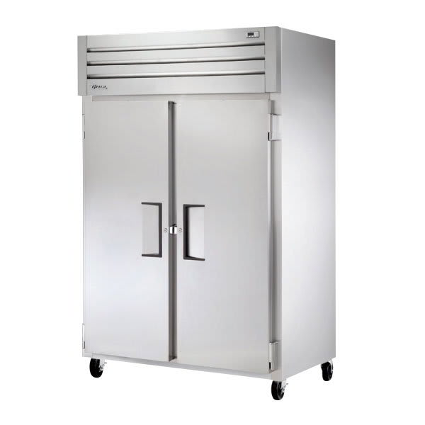 "True STM2F-2S 52.63"" Two Section Reach-In Freezer, (2) Solid Doors, 115v"