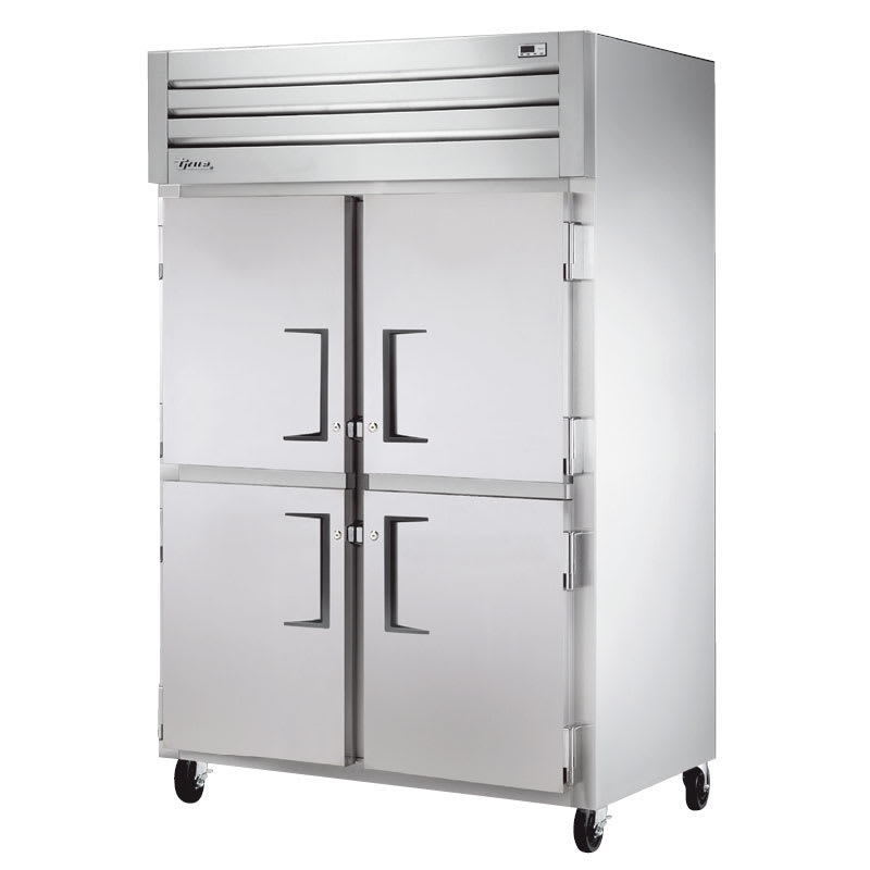 "True STM2F-4HS 52.63"" Two Section Reach-In Freezer, (4) Solid Door, 115v"