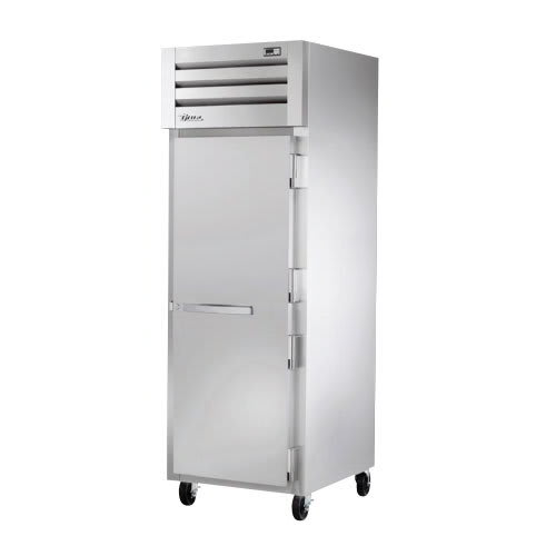 "True STR1F-1S-HC 27.5"" Single Section Reach-In Freezer, (1) Solid Door, 115v"