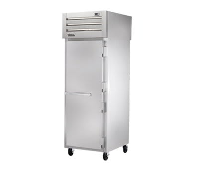 "True STR1FPT-1S-1S 27.5"" Single Section Pass-Thru Freezer, (1) Solid Door, 115v"