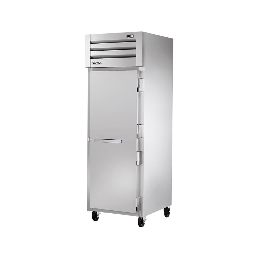 """True STR1R-1S-HC 28"""" Single Section Reach-In Refrigerator, (1) Solid Door, 115v"""