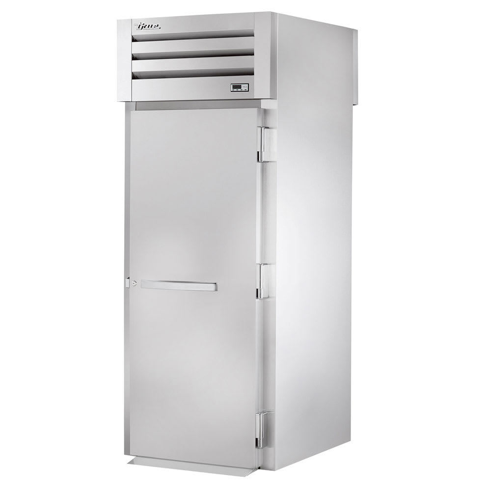 "True STR1RRT-1S-1S 35"" Single Section Roll-Thru Refrigerator, (1) Solid Door, 115v"