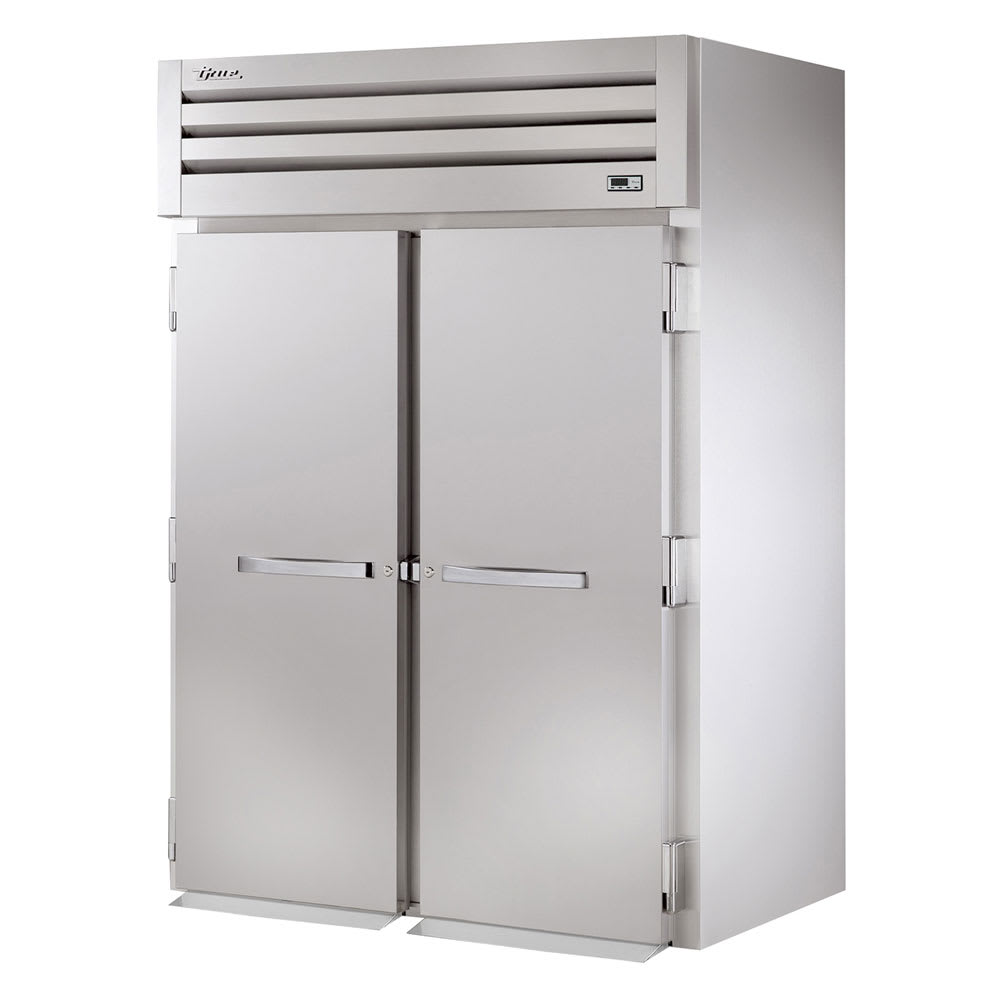 "True STR2FRI-2S 68"" Two Section Roll-In Freezer, (2) Solid Door, 115/208 230v/1ph"