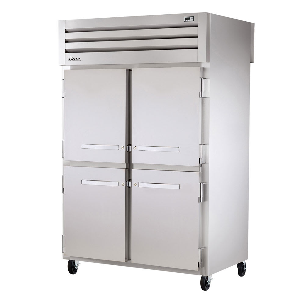 "True STR2HPT-4HS-4HS 52.63"" Full Height Heated Cabinet w/ (6) Shelves, 115v"