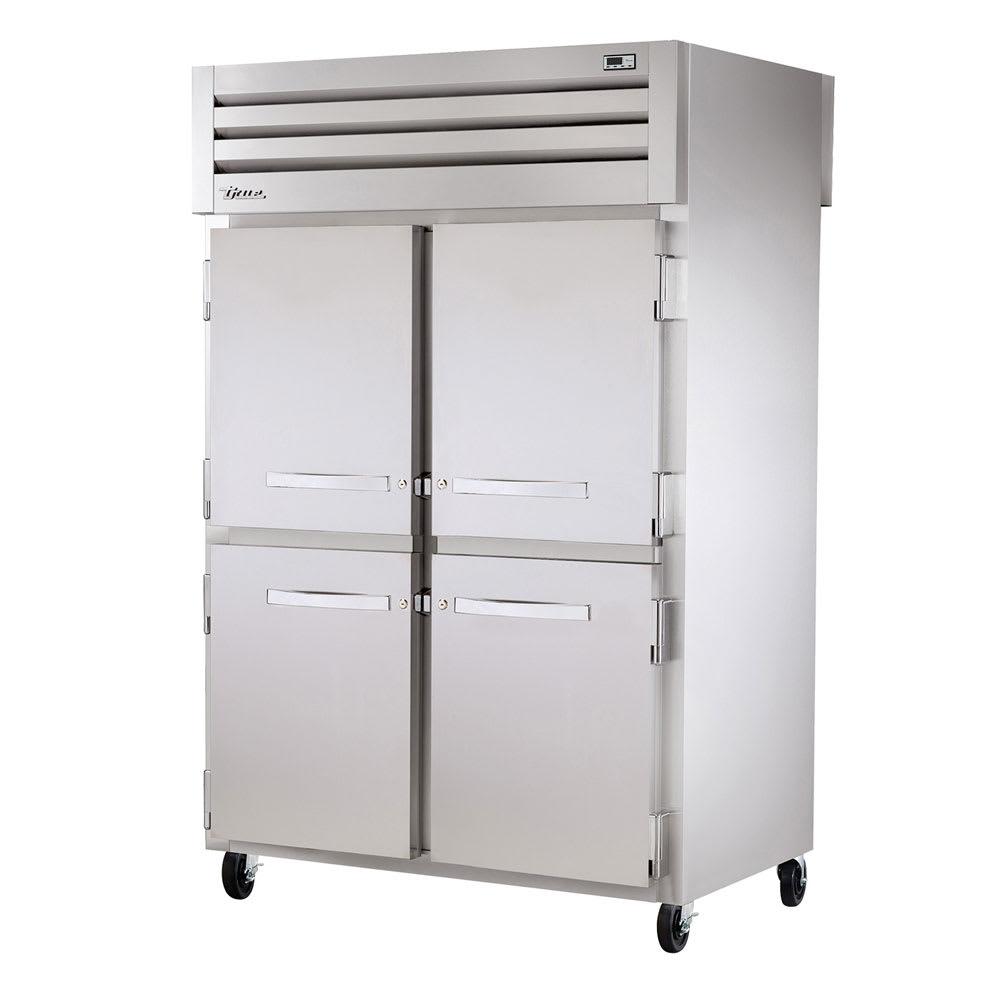True STR2HPT-4HS-4HS Full Height Insulated Mobile Heated Cabinet w/ (6) Shelves, 208 240v/1ph