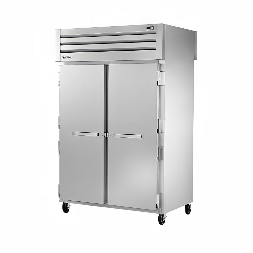 "True STR2R-2S-HC 52.63"" Two Section Reach-In Refrigerator, (2) Solid Door, 115v"