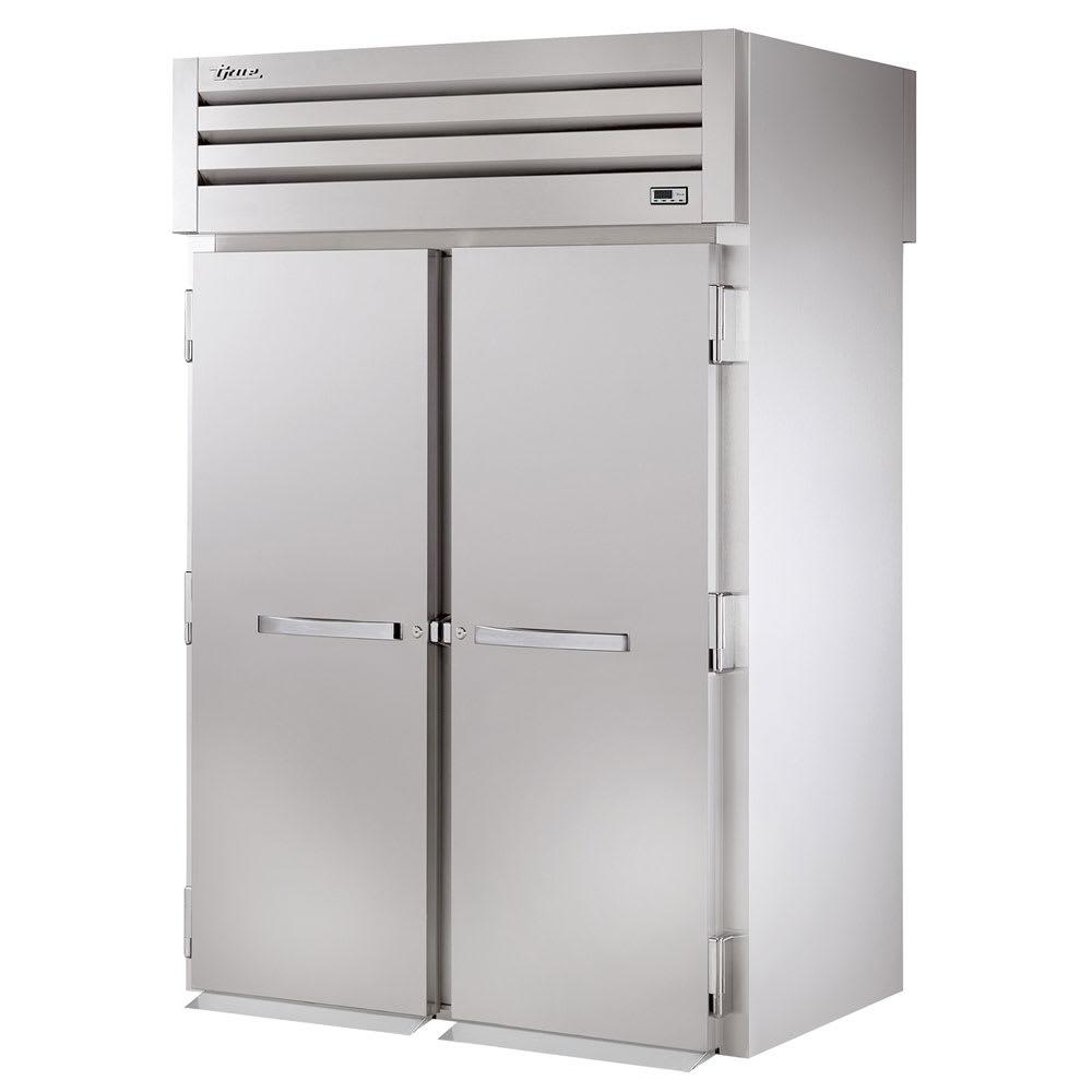 """True STR2RRT-2S-2S 68"""" Two Section Roll-Thru Refrigerator, (2) Solid Door, 115v"""