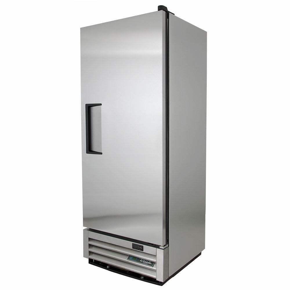 "True T-12F-HC 24.88"" Single Section Reach-In Freezer, (1) Solid Door, 115v"