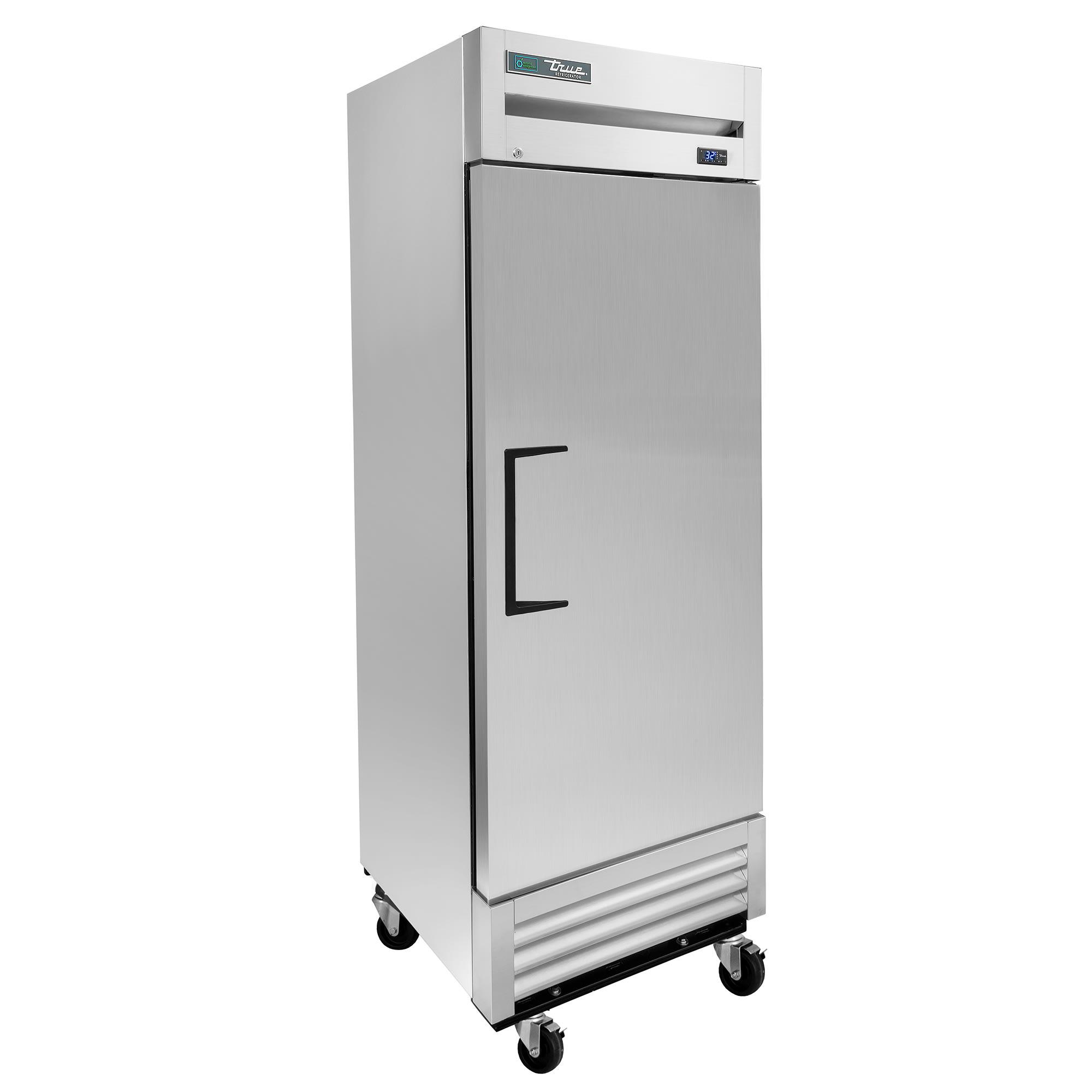 """True T-19-HC 27"""" Single Section Reach-In Refrigerator, (1) Solid Door, 115v"""